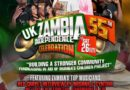 The Zambians living in the UK are preparing for a huge celebration to mark Zambia's 55th Independence.